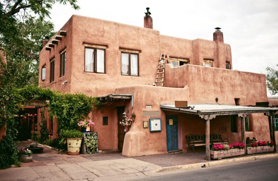 24 Hours in Santa Fe; historical adobe house