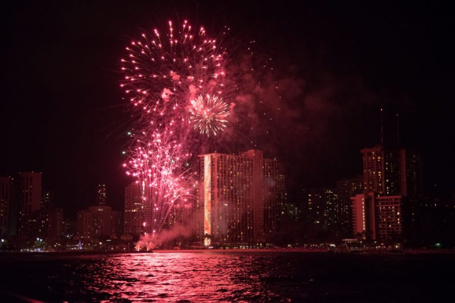 best things to do in Oahu; friday fireworks at Hilton Hawaiian Village Waikiki