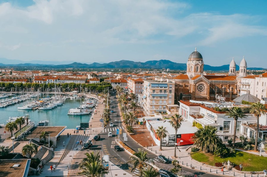 The Perfect 7-14 Day Provence and Côte d'Azur Itinerary; port of Sainte-Maxime