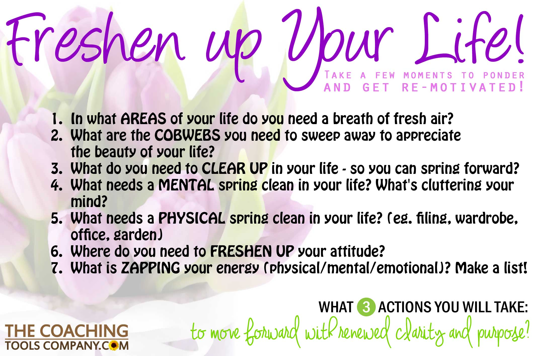 7 Questions To Get Re Motivated And Freshen Up Your Life