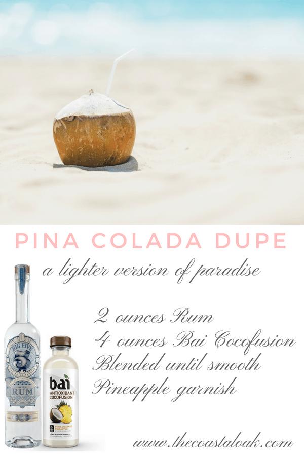 Pina Colada Dupe