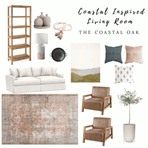 Coastal Inspired Living Room