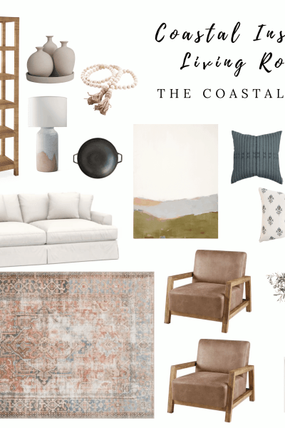 Coastal Inspired Living Room