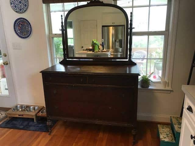 1920's Dresser Before