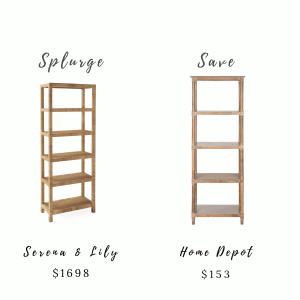 Splurge and Save Furniture