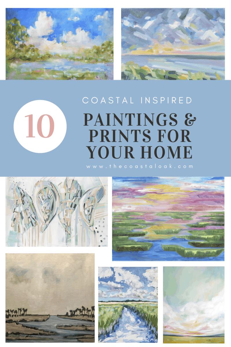 Fine Art and Prints - The Coastal Oak