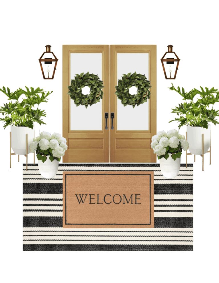 Front Porch Decor – Five Different Ways