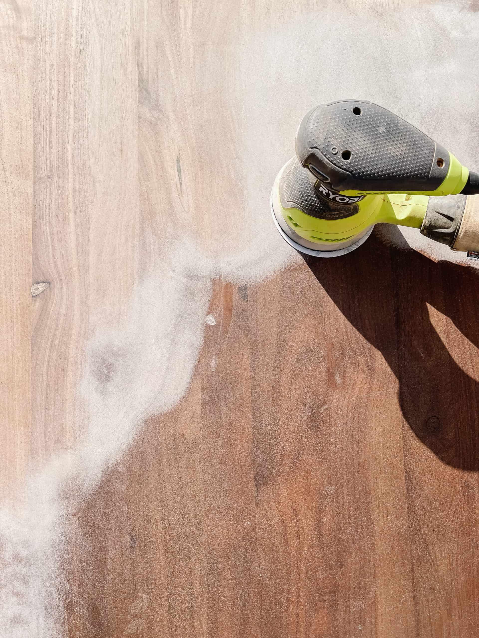 How to Sand, Bleach, and Whitewash Wood Furniture