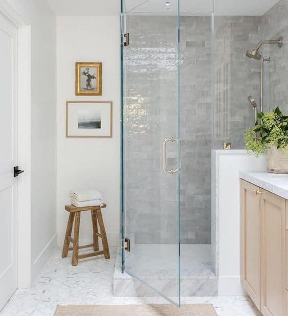 Bathroom Inspiration – Natural Wood Vanities