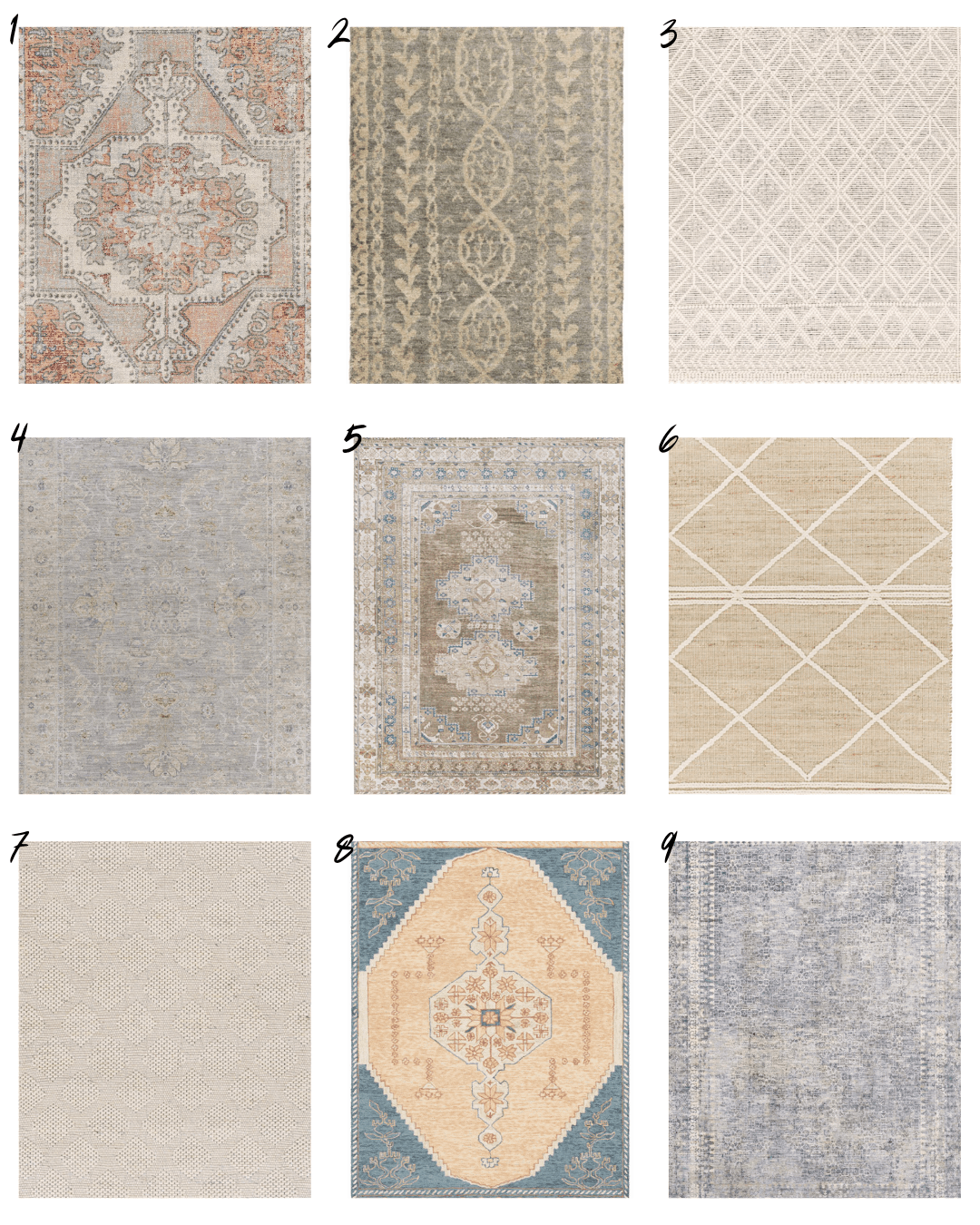 Boutique Rugs roundup with designer rugs for less.