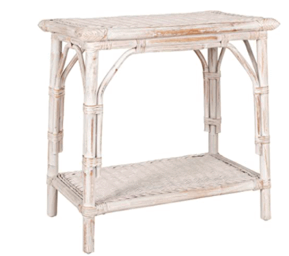 10 whitewashed end tables for your living room