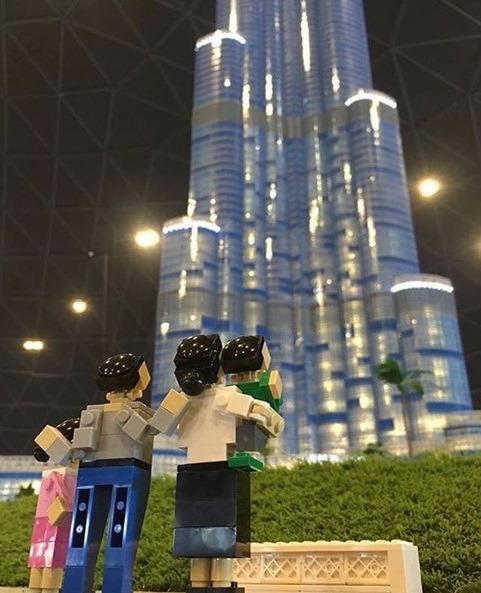 Aspecto de atracción en Legoland