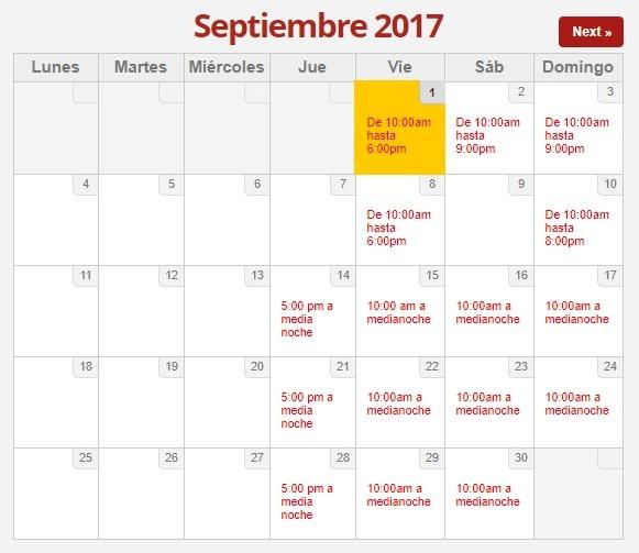 FDT Septiembre