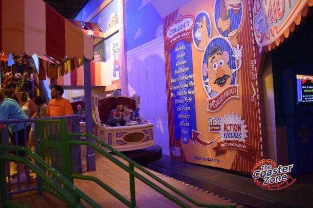Toy Story Mania queue