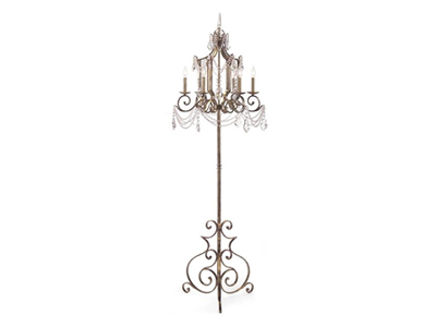 chandelier style floor lamp