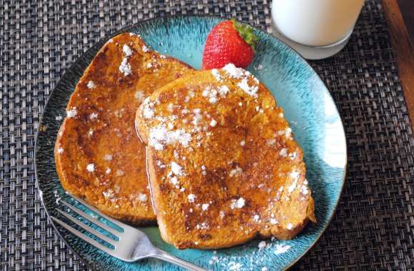 Hot Off the Griddle: Pumpkin French Toast
