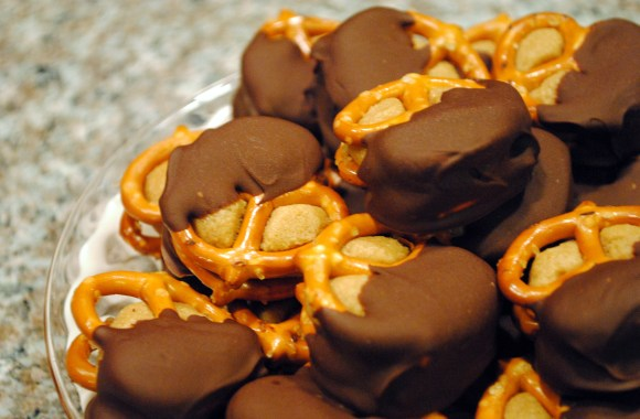 100th Post: Kitchen Remodel and Chocolate Dipped Peanut Butter Pretzels