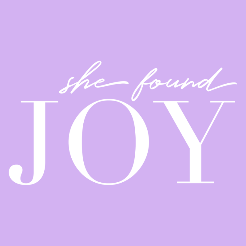 Branding + Website | She Found Joy