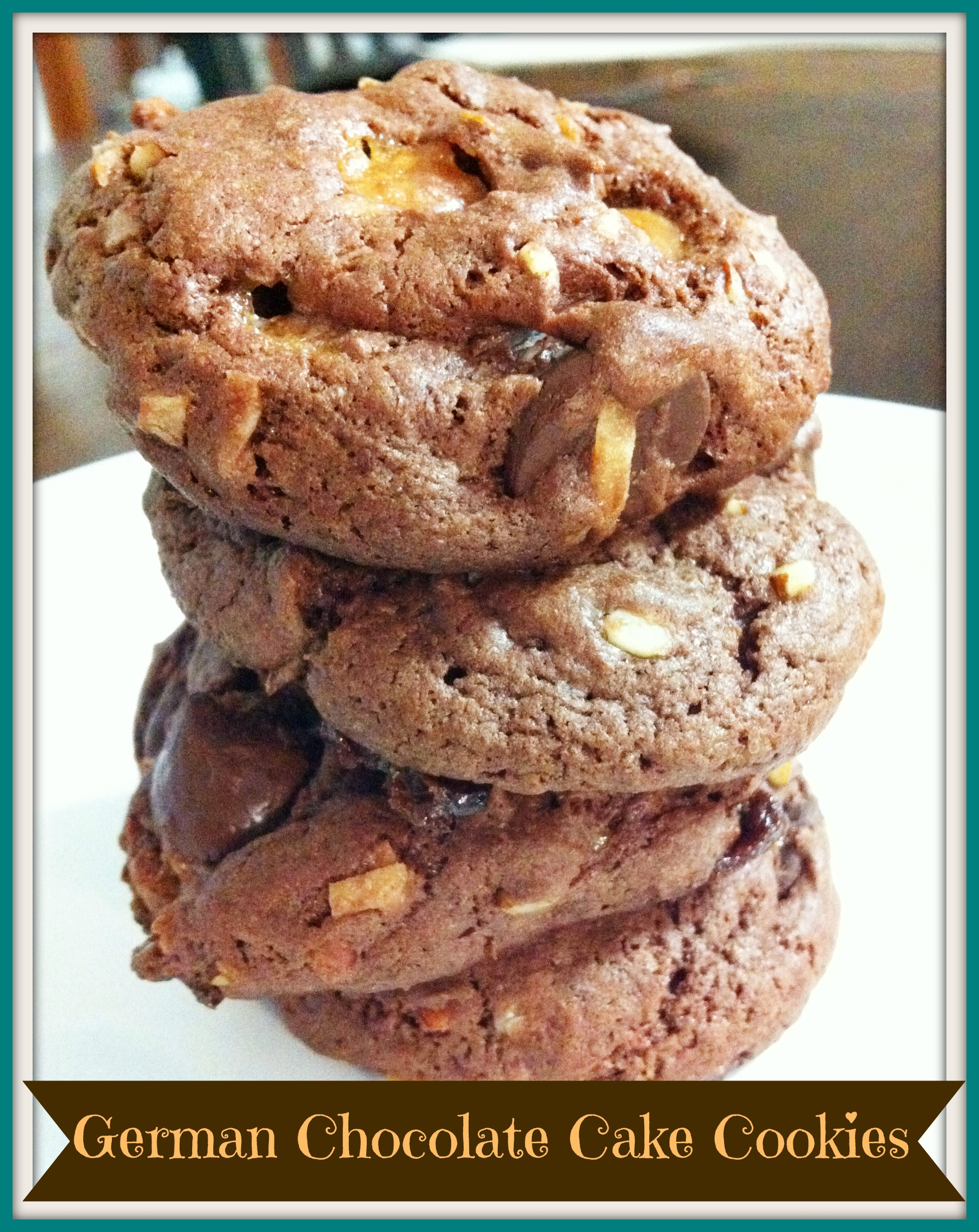 Cake Mix Cookies: German Chocolate - The Coers Family