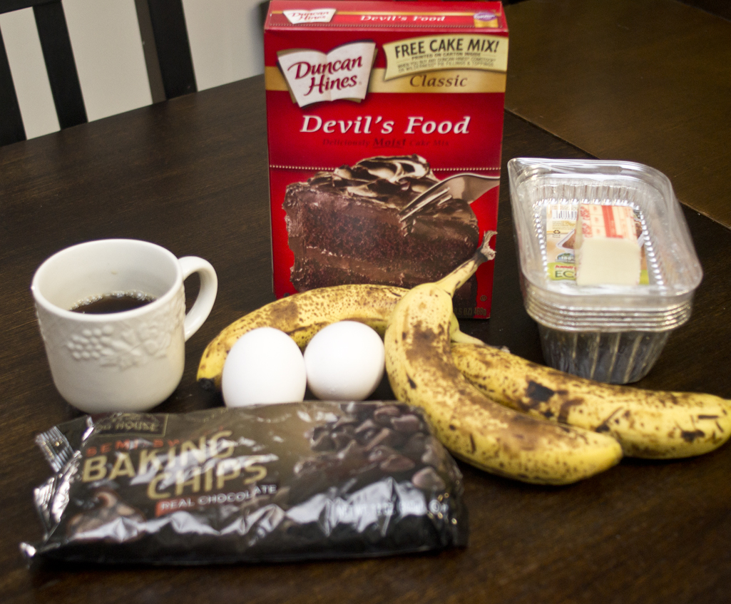 Banana bread recipe cake mix