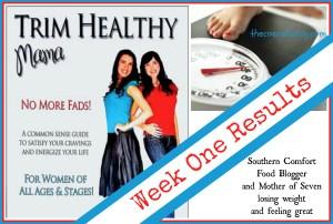 Trim Healthy Mama - week one