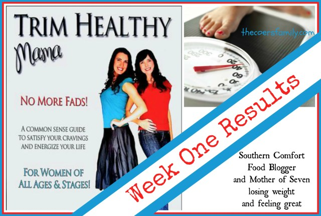Our first week with Trim Healthy Mama - The Coers Family