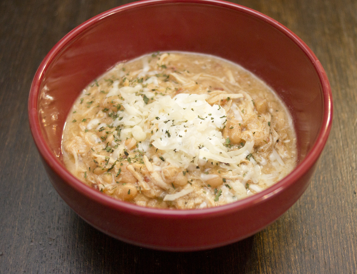 Trim Healthy Mama Style Crock Pot White Chicken Chili The Coers Family