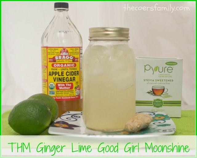 Trim Healthy Mama Ginger Lime Good Girl Moonshine