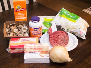 ingredients for fakertot casserole