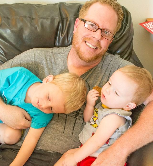 Scott Coers and Kids