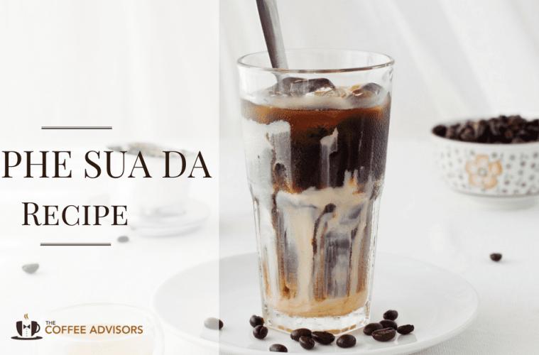 Ca Phe Sua Da or iced Vietnamese coffee