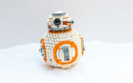 Top toy for Christmas 2017: a Lego BB-8