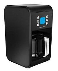 Morphy Richards 162008 1.8L Filter Coffee Maker in Matt Black