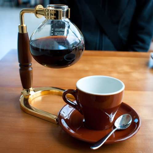 Siphon coffee in New Orleans