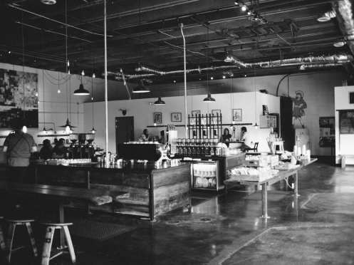 Barista Parlor coffee shop view