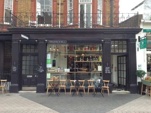 Fernandez and Wells - London Coffee Crawl