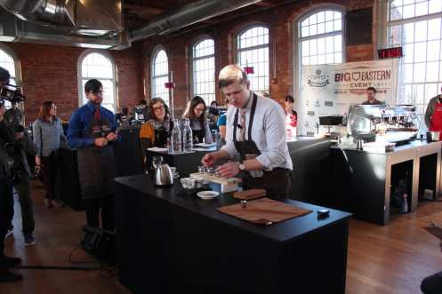 Michael Butterworth Quills Big Eastern Barista