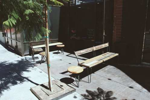 Blacktop Coffee Outdoor Seating