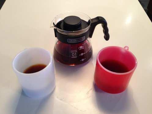 Everyman pour over coffee