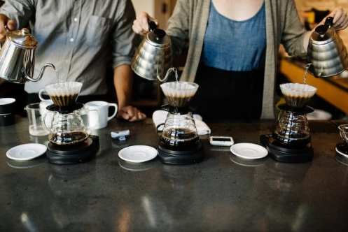 Madcap Coffee Grand Rapids Kalita Wave Pourover