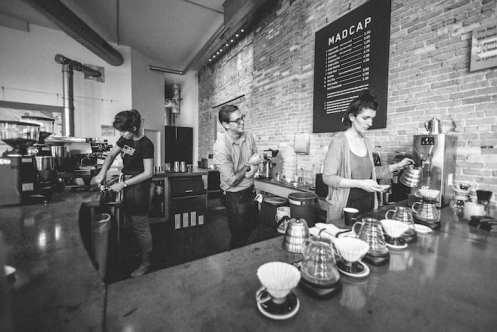 Madcap Coffee Grand Rapids Baristas