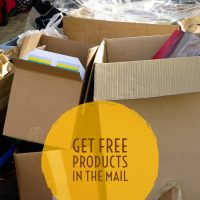 Learn how to get free products sent to you just by asking!