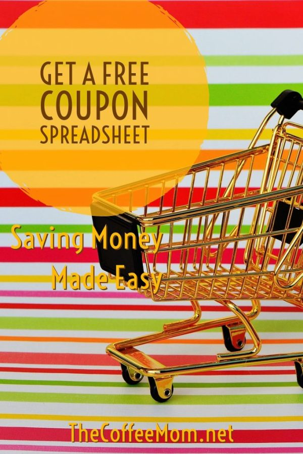 Learn to Coupon and get a FREE Shopping Spreadsheet to Make Saving Money Even Easier