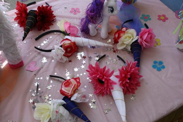 Simple Unicorn headbands diy