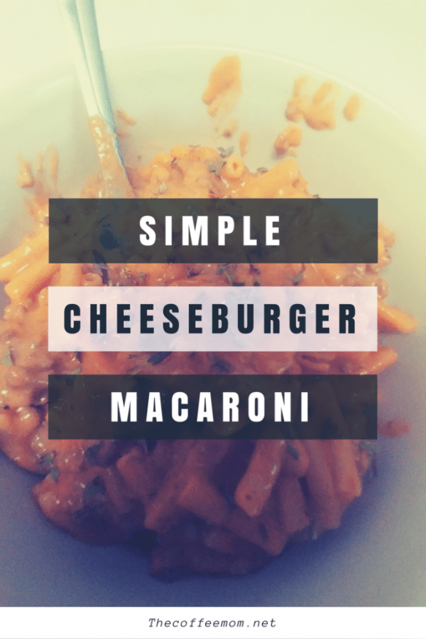 Simple cheeseburger macaroni. Jaxx up your plain boxed Mac n Cheese with this family friendly recipe.