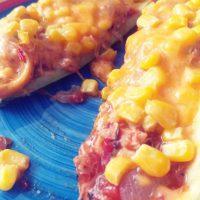 Chicken Taco Zucchini Boats