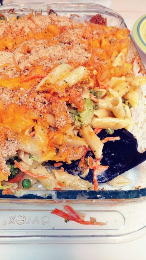 Meatless Monday Veggie Mac and Cheese