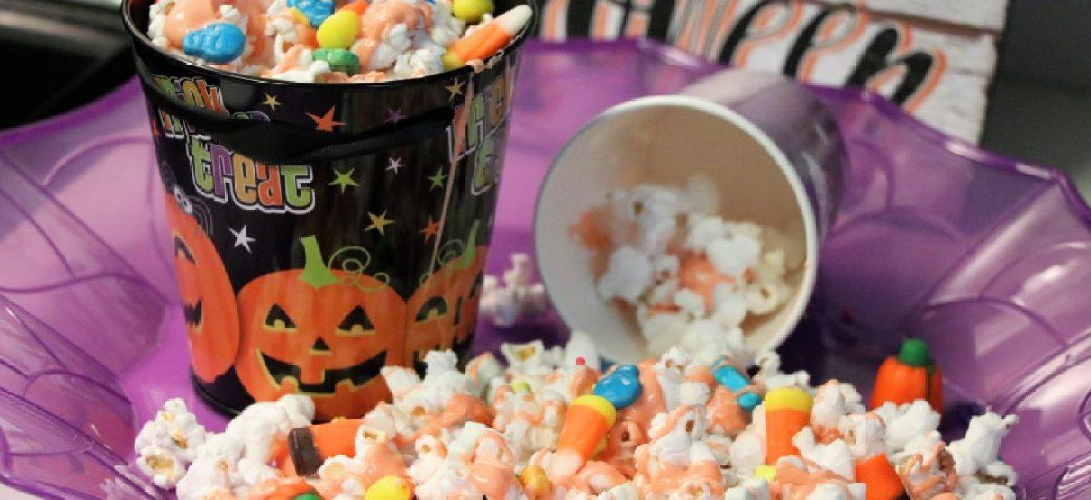 Spooky Halloween Popcorn For Family Movie Night