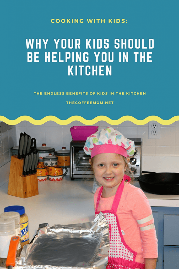 Why you should be cooking with kids from a young age.