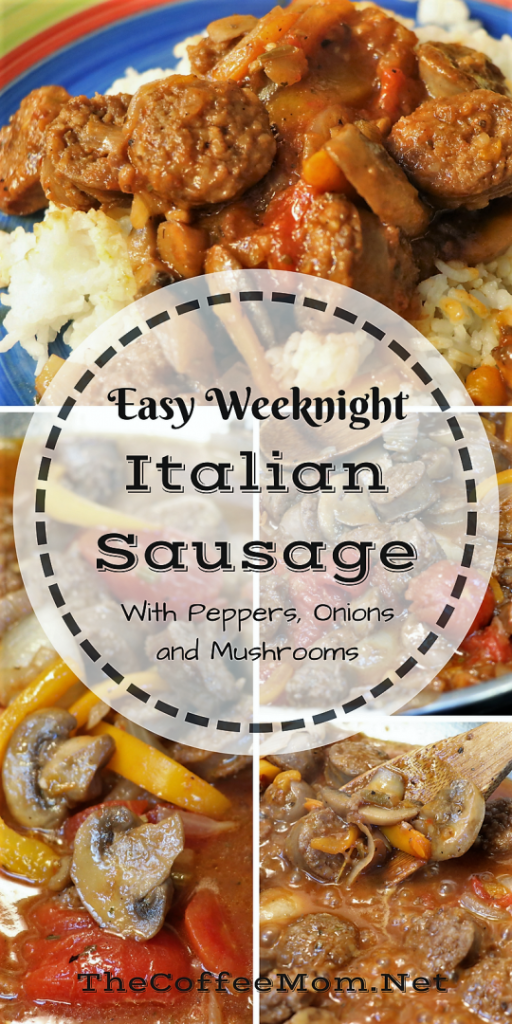 Easy Italian Sausage with Peppers and Onions
